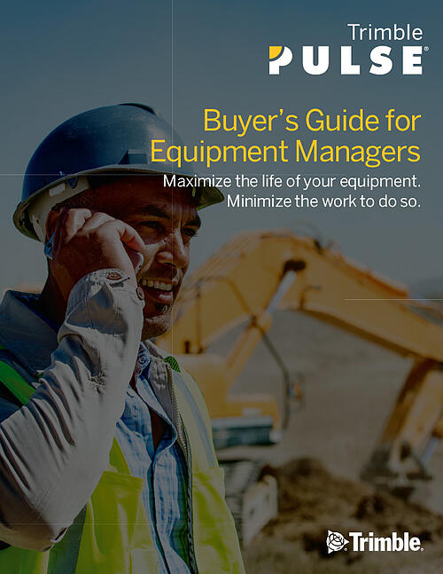 Buyer's Guide for Equipment Managers COVER